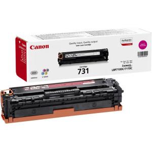 Тонер-картридж CANON 731М для LBP 7100Cn/7110Cw пурпурный оригинал