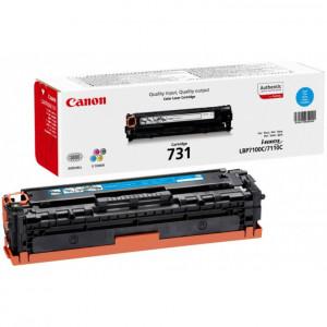 Тонер-картридж CANON 731С для LBP 7100Cn/7110Cw синий оригинал