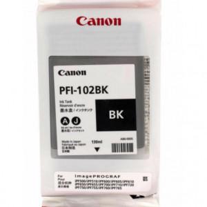Картридж для плоттера Canon IPF500/600/700 PFI-102BK черный