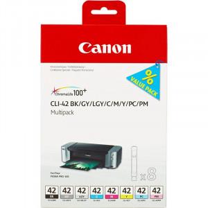 Картридж CANON CLI-42 к PIXMA PRO-100 мультипак 8 цветов/6384B010