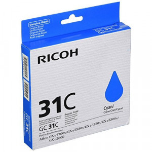 Картридж для гелевого принтера GC 31C голубой Print Cartridge GC 31C (405689)