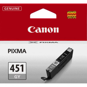 Картридж CANON CLI-451 GY стандартный серый для PIXMA iP7240/MG6340