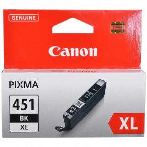 Картридж CANON CLI-451XL BK увеличенный черный для PIXMA iP7240/MG6340