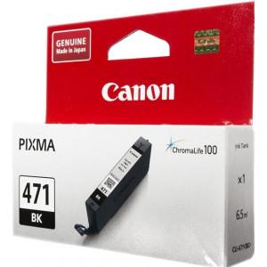 Картридж CANON CLI-471 BK  для Pixma MG7740/6840/5740 черный