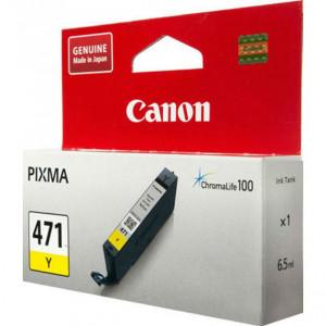 Картридж CANON CLI-471 Y  для Pixma MG7740/6840/5740 желтый