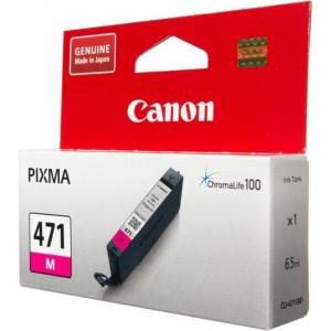Картридж CANON CLI-471 М  для Pixma MG7740/6840/5740 малиновый