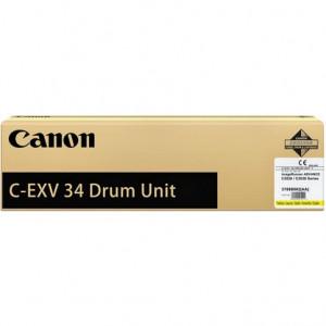 Драм-картридж CANON С-EXV34 Y для IR ADV C2020/2030/2220L  желтый оригинал