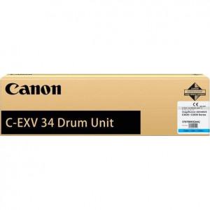 Драм-картридж CANON С-EXV34 С для IR ADV C2020/2030/2220L  синий оригинал
