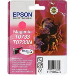 Картридж EPSON T07334A ST C79/CX3900/4900/5900 красный