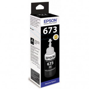 Чернила EPSON T67314A для L800 черный 70 мл