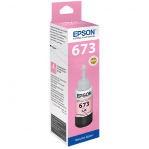 Чернила EPSON T67364A для L800 светло-пурпурный 70 мл