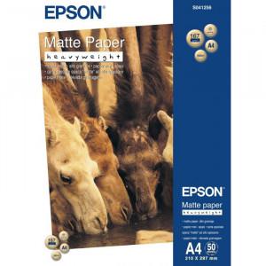 S041256 Epson Плотная матовая ярко-белая бумага,  A4, 50 листов, 167 г/м2