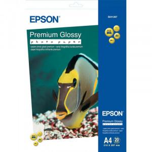 S041287 Epson Высококачественная глянцевая фотобумага, A4, 20 листов, 255 г/м2