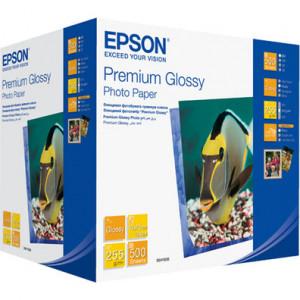 S041826 Epson Высококачественная глянцевая фотобумага, 10x15 см, 500 листов, 255 г/м2