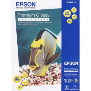 S041875 Epson Высококачественная глянцевая фотобумага, 13x18 см, 50 листов, 255 г/м2