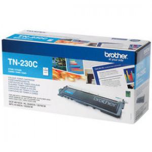 Тонер-картридж BROTHER TN-230C HL3040/DCP9010CN/MFC9120CN 1400 страниц голубой оригинал