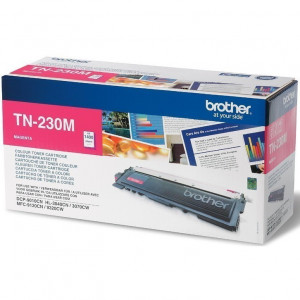 Тонер-картридж BROTHER TN-230M HL3040/DCP9010CN/MFC9120CN 1400 страниц пурпурный оригинал