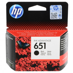 Картридж HP C2P10AE  №651 Black Ink, черный