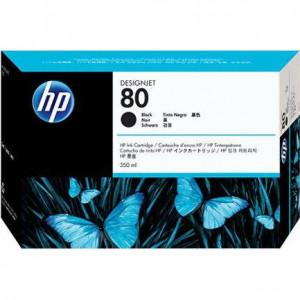 Картридж HP C4871A 1050С/1055CМ черный (350 мл) № 80
