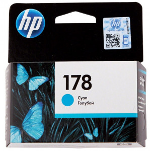 Картридж HP CB318HE Photosmart C5383/C6383 № 178 стандартный голубой
