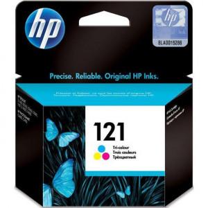 Картридж HP CC643HE F4200 № 121 стандартный цветной