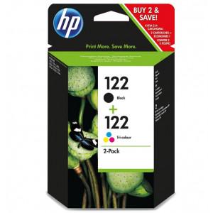 Картридж HP CH561HE + CH562HE Deskjet 2050 № 122 черный + цветной