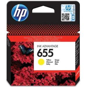 Картридж HP CZ112AE Deskjet IA 3525/5525/4515/4525 № 655 желтый