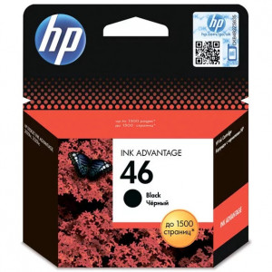 Картридж HP CZ637AE №46 Black Ink Cartridge ориг.