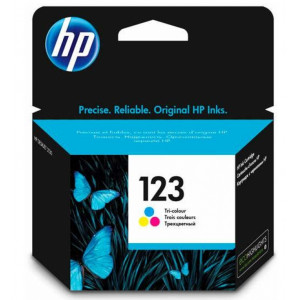 Картридж HP F6V16AE №123 для HP Deskjet Ink,   Tri-colour (Цветной)
