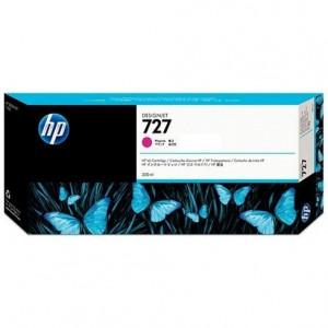 Картридж HP F9J77A  №727 с пурпурными чернилами для принтеров Designjet, 300 мл