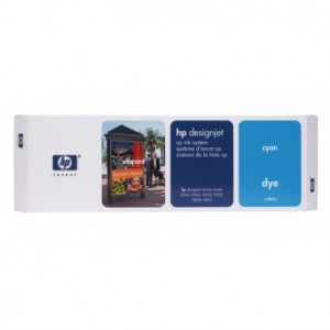 C1807A Картридж к плоттеру HP DesignJet 2500 (синий) 410-ml