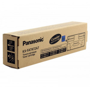 Тонер картридж Panasonic KX-FA472A для KX-MB2110/2130/2170 оригинал стандартный