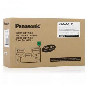 Тонер картридж Panasonic Panasonic KX-FAT421A  KX MB2230/2270/2510 оригинал 2000 копий