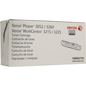 106R02778 Картридж Xerox Phaser 3052/3260 WC3215/3225 3000стр.