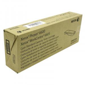 106R02249 Тонер-картридж XEROX Phaser 6600/WC 6605  106R02249 стандартный, синий
