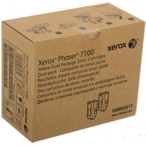 106R02611 Тонер-картридж XEROX Phaser 7100 106R02611 увеличенный желтый