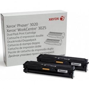 106R03048 Тонер-картридж XEROX Phaser 3020/WC 3025 (o) 1.5K упаковка 2 шт.