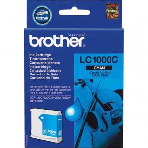 Картридж BROTHER LC1000C синий