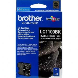 Картридж BROTHER LC1100BK черный стандартный