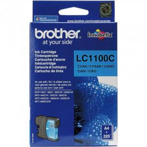 Картридж BROTHER LC1100C голубой стандартный